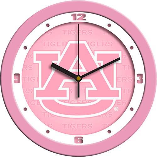 Auburn Tigers - Pink Wall Clock
