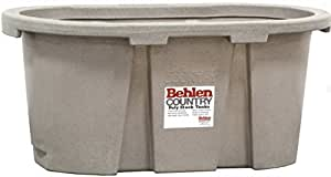 Behlen Country PRE224 100-Gallon Poly Stock Round-End Tank