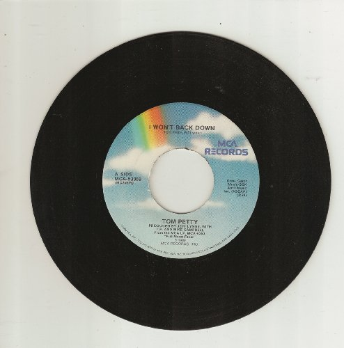 I Won't Back Down / The Apartment Song (45 rpm single)