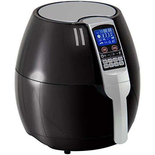 Best Choice Products 3.7qt Electric Air Fryer w/ 8 Cooking Presets, Temperature Control, and Timer - Black by Best Choice Products (Image #2)