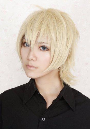 Inu X Boku Ss Secret Service Watanuki Banri Anime Short Blonde Cosplay Hair Wig