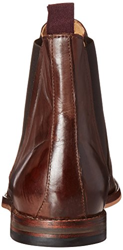 H By Hudson Mens Tamper Chelsea Boot Brown