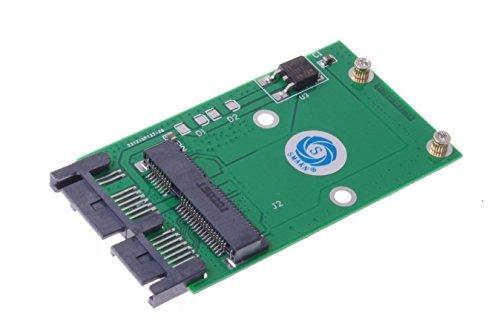 SMAKN® 50mm Full-Height Mini PCI-E MSATA SSD to 1.8 inch MICRO SATA MSATA