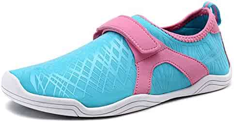 Dream Pairs New Boys & Girls Light Weight Comfort Sole Easy Walking Athletic Slip On Water shoes (Toddler/Little Kid/Big Kid)