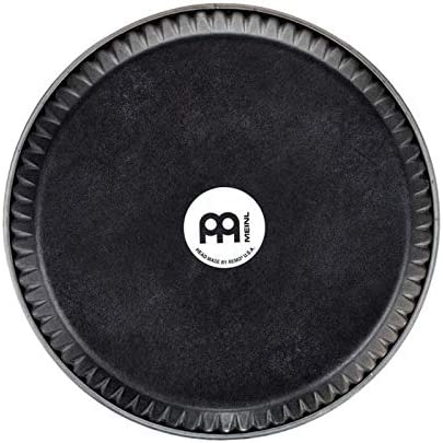 Meinl Percussion Head by REMO for Select Meinl Congas with SSR Rims-Made in USA-11 3//4 Skyndeep Black Calfskin RHEAD-1134BK