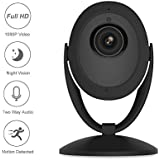 Etration Smart Home Security Camera, Wireless Indoor Security Camera, Baby Camera,Nanny Cam, Pet Monitor, Full HD 1080P WIFI Surveillance Camera with Night Vision Two Way Audio Motion Detection