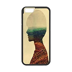 Doah Awake IPhone 6 Cases for Teen Girls Protective, Iphone 6 Case for Girls [Black]