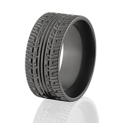 Tire Tread Rings Wedding Bands Mud Tire Rings American Made Quality