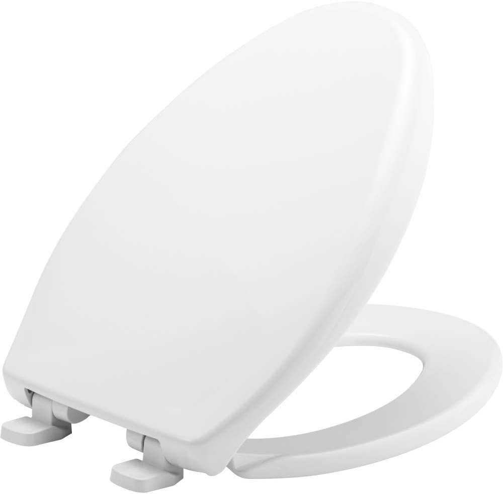 New Soft Close White Toilet SEAT Luxury Bathroom Slow Seats WC Heavy Duty