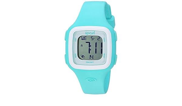 Rip Curl Candy A3126G-MNW - Reloj Deportivo de Cuarzo para Mujer, de plástico y Silicona, Color Verde: Amazon.es: Relojes