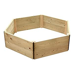 Hexagonal Greena recaudó - herb planter/cama Ideal plantador de la flor - diversos tamaños disponibles