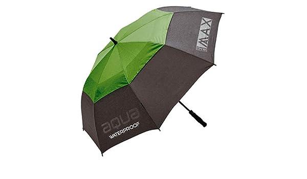 Big Max I-Dry Aqua automático Abierto Paraguas, Green/Grey: Amazon.es: Deportes y aire libre