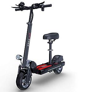 41SWG5DBlfL. SS300 ZXYSR Monopattino Elettrico Pieghevole Scooter, 120Km di Autonomia,velocità Fino A 50Km/H, per Adulto,Bambini