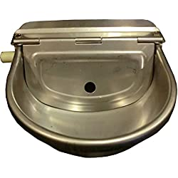 Automatic Farm Grade Stainless Stock Waterer Horse Cattle Goat Sheep Dog Water BY Rabbitnipples.com