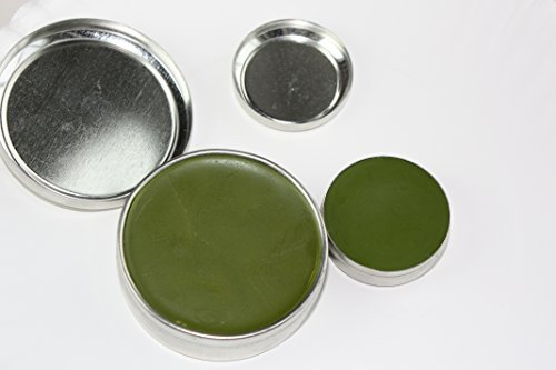 All Purpose Salve by The Super Salve Co. Extra Large 4oz tin AND .5oz Travel Tin Chapparral Leaf, Comfrey Leaf, Ecinacea Flower, Hops Flower and Usnea Moss (4 oz (Large) & .5 oz (travel))