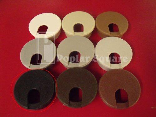 Cord grommet 1-3/4'' 25/box Black #1039BK by Bmi (Image #4)