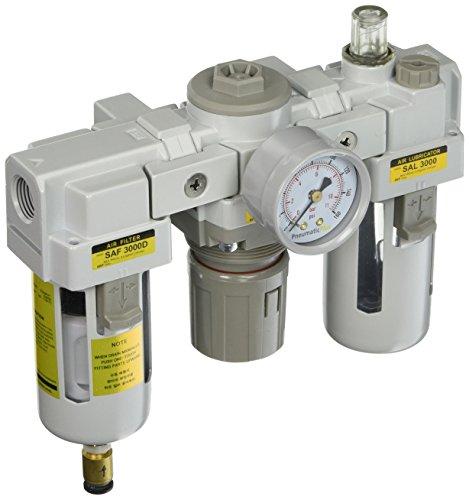 PneumaticPlus SAU3000M N03DG Compressed Regulator Lubricator