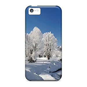 Durable Case For TheDiy For Iphone 5C Case Cover Eco-friendly Retail Packaging(dreamful Winter)