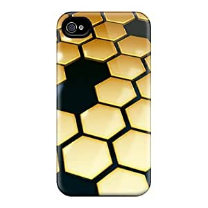 Forever Collectibles Mosaic Honeycomb Hard Snap-on iphone 6 4.7 Case