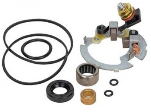 Brand New Starter 2 Brush Repair / Rebuild Kit for Polaris ATV's & UTV's, Fits Many Models, Please See - Quad Kit Starter