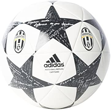 adidas Finale16Juventuscap Balón de Fútbol, Hombre, Blanco (Blanco ...