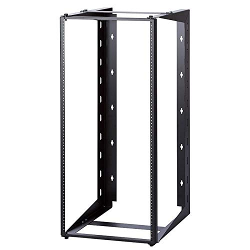 24U Dual Swing-out Open Frame Wall Mount Rack 18'' Depth USA Made by RackMark (Image #1)