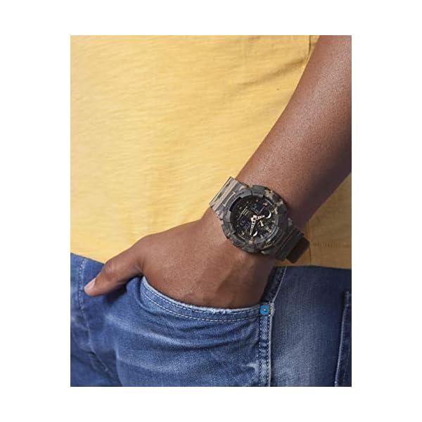 Casio Reloj Analógico para Hombre de Cuarzo con Correa en Resina GA-100CM-5AER 7