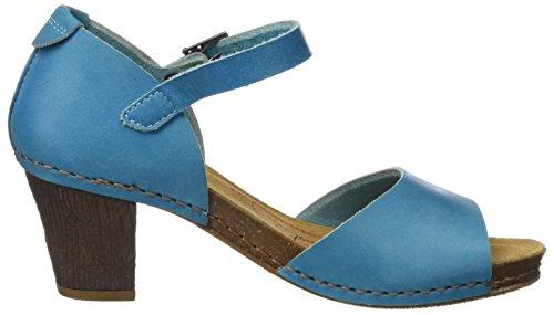 ART Damen 0145 Mojave I Meet Sandalen mit Knöchelriemen Blau (Albufera)