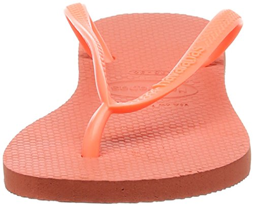 6678 Cyber Femme Tongs Orange Havaianas Slim orange 01A6n1WZ