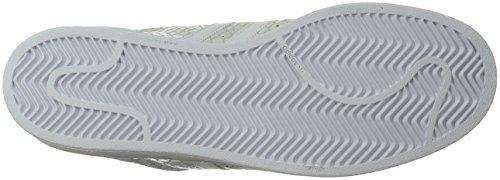 adidas Originals Damen Superstar W Fashion Sneaker Weiß / Weiß / Weiß