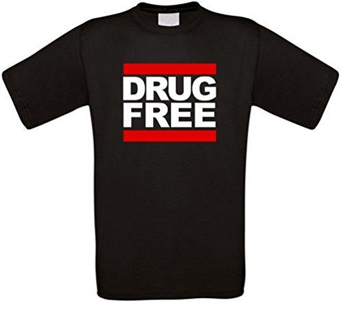 Drug Free Straight Edge T-Shirt