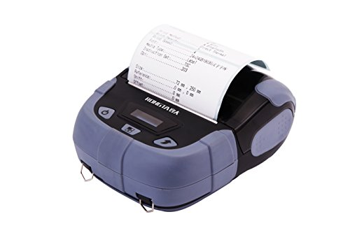 RONGTA RPP320BWU-G Mini Portable Bluetooth USB Thermal Printer Receipt Ticket POS Printing for iOS Android (Bluetooth Printer Pda)