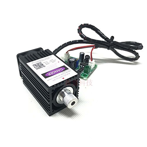 F-Yi 405nm Blue Purple Laser Engraving Machine Parts with TTL for DIY 3D Printer & Industrial by F-Yi