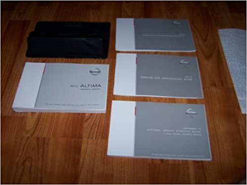 2012 nissan altima owners manual nissan amazon books fandeluxe Gallery