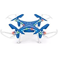 Owill X13D 2.4GHz 4CH Led Mini Remote RC Quadcopter 3D Rollover Helicopter Great Christmas Gift for Everybody (Blue)