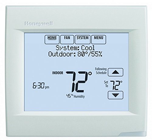 Honeywell TH8321WF1001 Touchscreen Thermostat Wifi Vision Pro 8000 with Stages upto 3 Heat / 2 Cool - Honeywell 8000 Thermostat