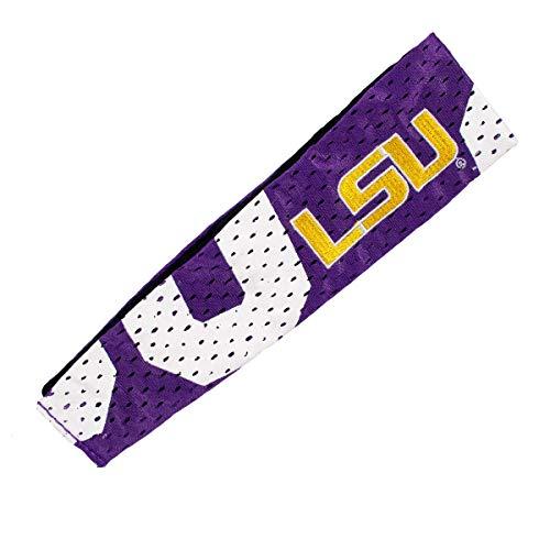 - NCAA LSU Tigers Jersey FanBand Headband
