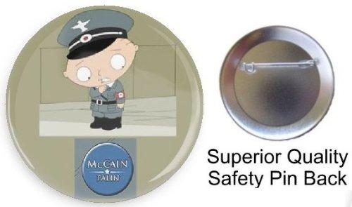 Stewie for MccCain Palin 2010 button 1.5