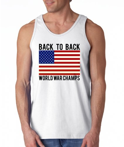 USA Back to Back World War Champs Men's Tank Top