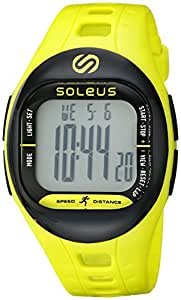 Soleus Unisex SF001-351 TEMPO Digital Display Quartz Green Watch