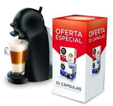 Krups KP1000 Nescafe Dolce Gusto Piccolo - Cafetera + 16 Buondi + 16 Ristretto Ardenza