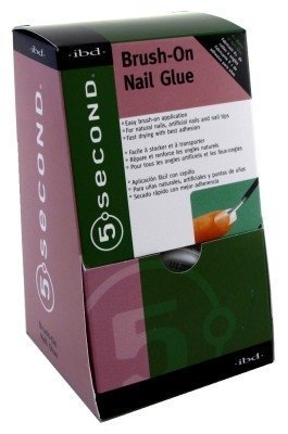 Ibd-5 Second Brush-On Nail Glue (12 Pieces)