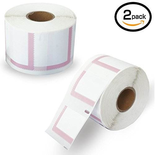"""2 Rolls Dymo 30915 Compatible 1-5/8"""" x 1-1/4""""(41mm x 32mm) Endicia Internet Postage Stamps Labels"""