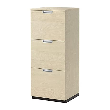 Amazon.com: Ikea File cabinet, birch veneer 34210.22014.28: Home ...
