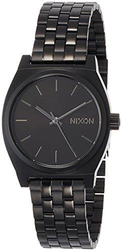 [ニクソン]NIXON MEDIUM TIME TELLER: ALL BLACK NA1130001-00