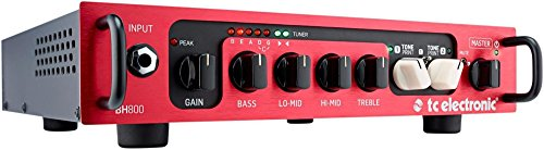 TC Electronic BH 800 Bass Amplifier Head