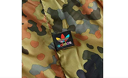 Adidas Jacket Reversible (adidas Men's Originals Pharrell Williams hu Hiking Reversible Camo SST Jacket CY7867 (S))