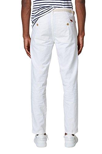 Bianco Uomo Esprit 100 Pantaloni white BTqYEq