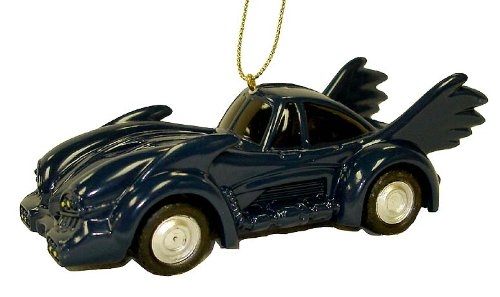 Kurt Adler Batman 1990's Batmobile Navy Car Christmas
