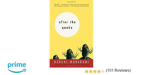 Amazon.com: After the Quake: Stories (9780375713279): Haruki ...